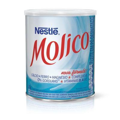 Imagem 2 do produto Leite em Pó Desnatado Molico Total Cálcio Lata 280g