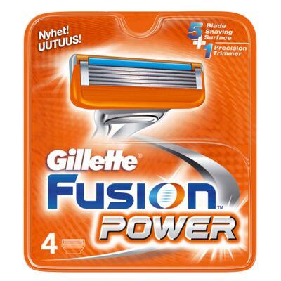 Imagem 1 do produto Gillette Fusion Power - Lâminas de Barbear - 4 Un