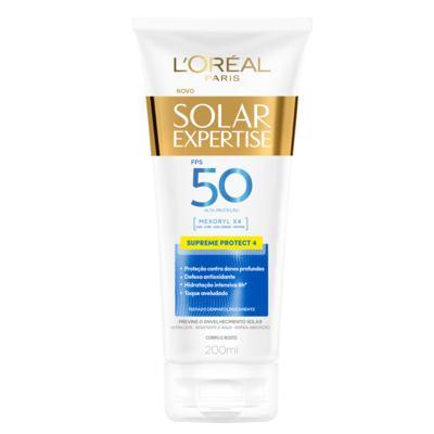 Protetor Solar Expertise Creme Supreme Protect 4 - Fps50 | 200ml