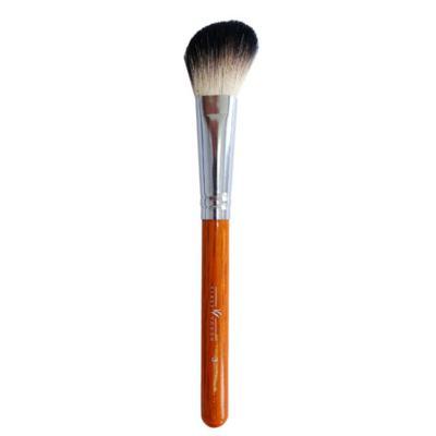 Imagem 1 do produto Pincel Chanfrado para Blush e Contorno Brown 3 Facial Klass Vough - Pincel Profissional Chanfrado para Blush - 1 Un