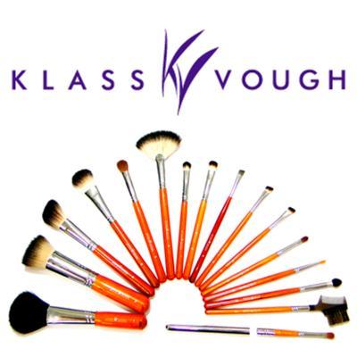 Imagem 3 do produto Pincel Chanfrado para Blush e Contorno Brown 3 Facial Klass Vough - Pincel Profissional Chanfrado para Blush - 1 Un