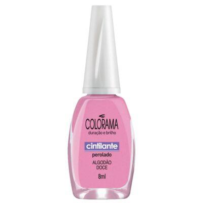 Imagem 1 do produto Esmalte Colorama Cintilante Algodão Doce