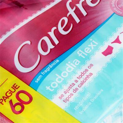 Imagem 3 do produto Protetor Diário Carefree Todo Dia Flexi Sem Perfume 80 Unidades