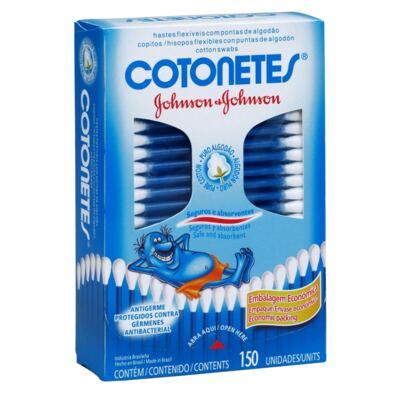Imagem 1 do produto Cotonetes Johnson's 150 Unidades