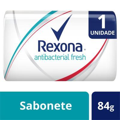 Imagem 1 do produto Sabonete em Barra Rexona Antibacteriano Fresh 84g