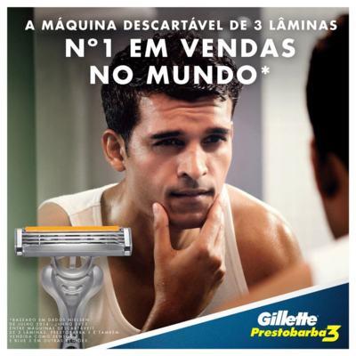 Imagem 7 do produto Aparelho de Barbear Gillette Prestobarba 3 - 4 Unidades