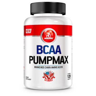BCAA Pumpmax Midway 120 cápsulas