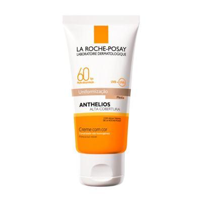 Imagem 1 do produto Protetor Solar Facial La Roche-Posay Anthelios Cor Média FPS60 40ml