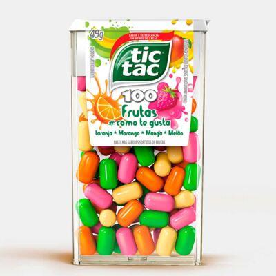 Pastilhas Tic Tac Frutas Como Te Gusta 26g