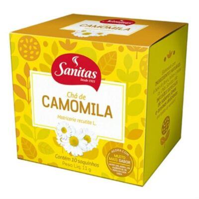 Imagem 1 do produto Chá de Camomila Sanitas 10 Sachês