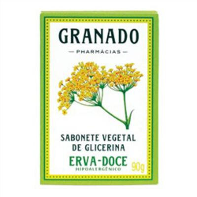 Sabonete Glicerina Granado Erva-Doce 90g