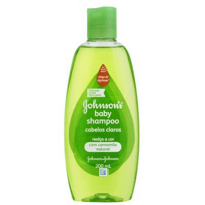 Imagem 1 do produto Shampoo Johnson's Baby Cabelos Claros 200ml