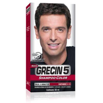 Imagem 1 do produto Tintura Grecin 5 Shampoo Color Castanho