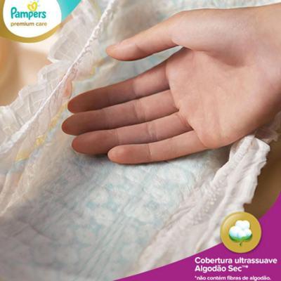 Imagem 2 do produto Fralda Descartável Pampers Premium Care M 72 Unidades