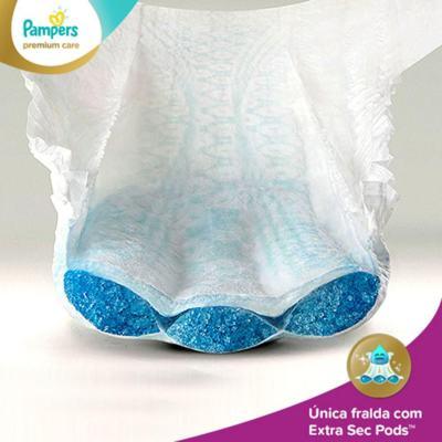Imagem 3 do produto Fralda Descartável Pampers Premium Care M 72 Unidades