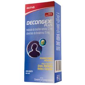 Descongex Plus - 12 comprimidos