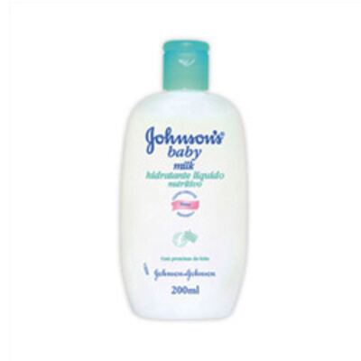 Imagem 1 do produto Loção Hidratante Johnson's Baby Milk - 200ml