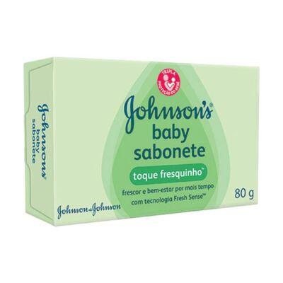 Sabonete Johnson's Baby Toque Fresquinho 80g