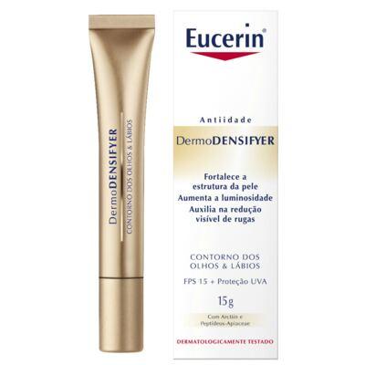 Creme Anti-idade Olhos e Lábios Eucerin Dermodensifyer 15g