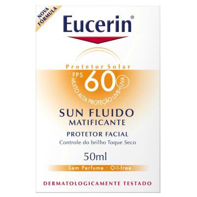Imagem 3 do produto Protetor Solar Facial Eucerin Sun Fluido Matificante FPS 60 50ml