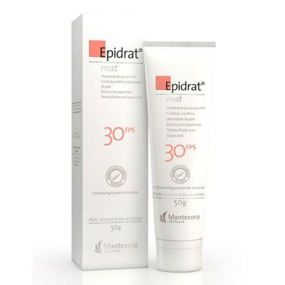 Imagem 1 do produto Hidratante Facial Epidrat Mat FPS 30 Mantecorp Skincare 50g