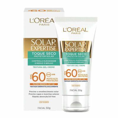 Protetor Solar Facial L'Oréal Expertise Toque Seco FPS 60 50g