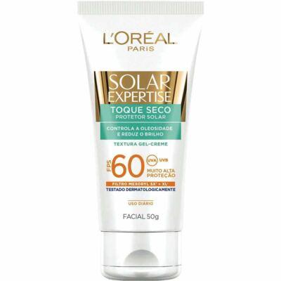 Imagem 2 do produto Protetor Solar Facial L'Oréal Expertise Toque Seco FPS 60 50g