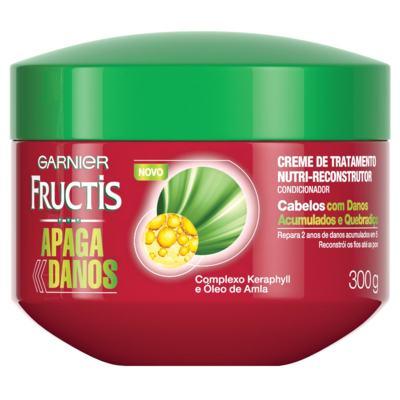 Imagem 1 do produto Creme de Tratamento Garnier Fructis Apaga Danos 300g