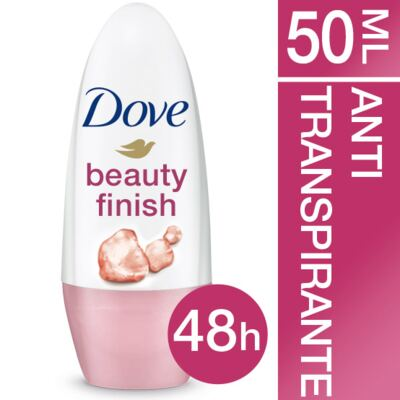 Desodorante Dove Roll On Beauty Finish Feminino 50ml