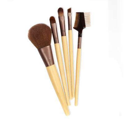 Imagem 2 do produto Six Piece Starter Set Ecotools - Kit de Pincéis para Maquiagem - Kit