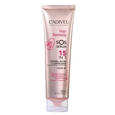 Imagem 1 do produto Cadiveu Hair Remedy SOS Serum 15 em 1 - Leave-In - 150ml