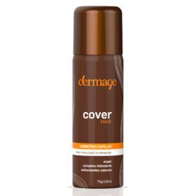 Corretivo para Cabelos Brancos em Spray Dermage - Cover Hair - Light
