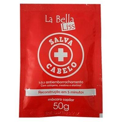 Imagem 1 do produto La Bella Liss Salva Cabelo - Máscara Antiemborrachamento - 50g