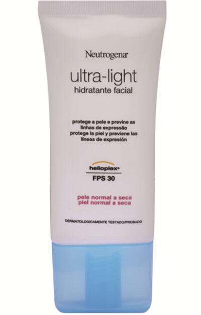 Imagem 1 do produto Hidrante Facial Neutrogena Ultra-Light Dia Pele Normal e Seca 55g