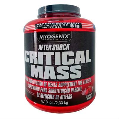 Imagem 1 do produto Critical Mass 2,33Kg - Myogenix - Morango