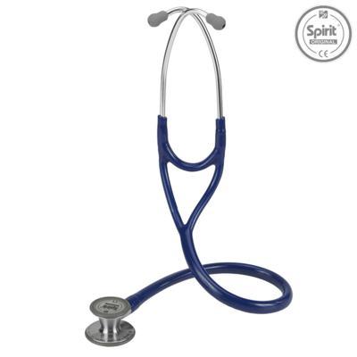 Imagem 1 do produto Estetoscópio Cardiology Azul Marinho com Diafragma Pediatrico Spirit
