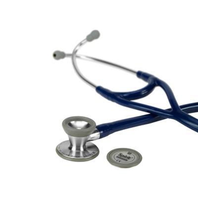Imagem 2 do produto Estetoscópio Cardiology Azul Marinho com Diafragma Pediatrico Spirit