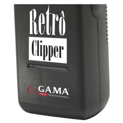Imagem 4 do produto Retrô Clipper Ga.Ma Italy - Máquina de Corte - Bivolt
