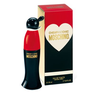 Cheap And Chic Moschino - Perfume Feminino - Eau de Toilette - 50ml