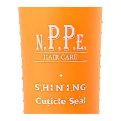 Imagem 2 do produto N.P.P.E. Shining Cuticle Seal - Creme para Pentear - 300ml