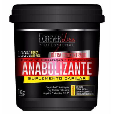 Forever Liss Anabolizante Capilar - Creme de Hidratação - 1Kg