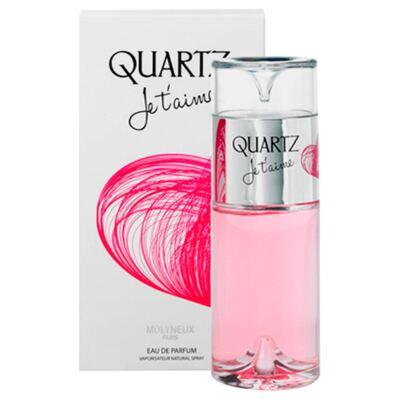 Imagem 2 do produto Quartz Femme Je T'aime Molyneux - Perfume Feminino - Eau de Parfum - 100ml
