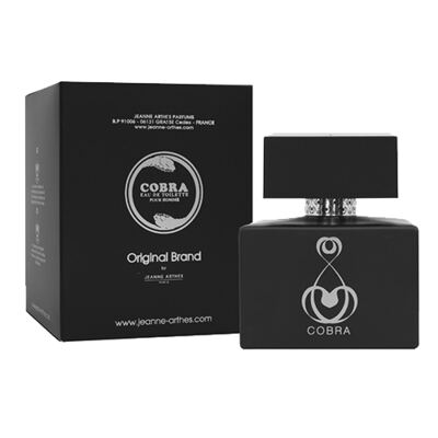 Imagem 1 do produto Cobra Jeanne Arthes - Perfume Masculino - Eau de Toilette - 100ml