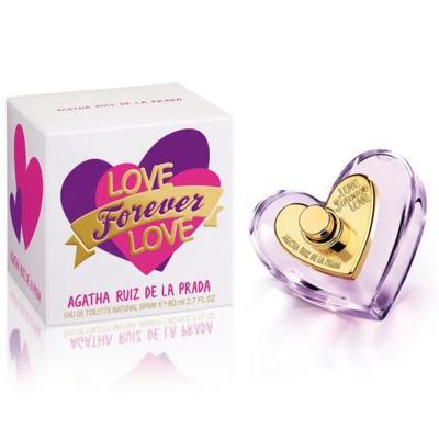 Imagem 1 do produto Love Forever Love Agatha Ruiz de la Prada Eau de Toilette Feminino - 50 ml