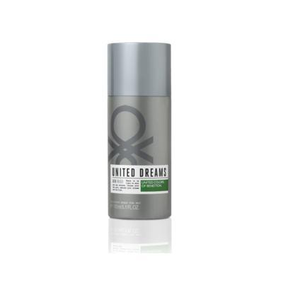 United Dreams Desodorante Aim High Benetton Masculino - 150 ml