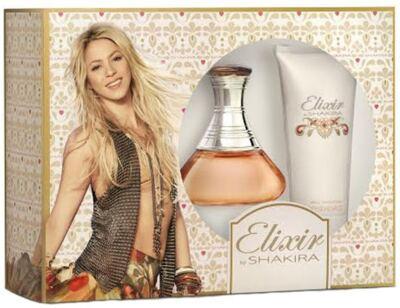 Imagem 1 do produto Kit Shakira Elixir Eau De Toilette Feminino - 80 ml + Body Lotion 100 ml