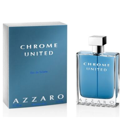 Azzaro Chrome United Eau De Toilette Masculino - 50 ml