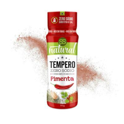 Tempero Zero Sódio - 50g - Sabor & Saúde - Pimenta