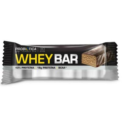 Barra de Proteína Whey Bar Low Carb - Morango   40g