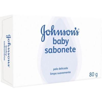 Sabonete em Barra Infantil Johnson Original 80g